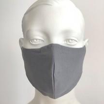 Gesichtsmaske grau