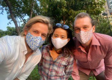 Gesichtsmasken nachhaltig & für einen guten Zweck!