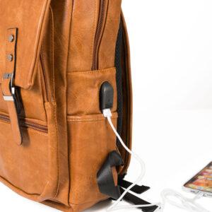 Rucksack mit USB-Anschluss
