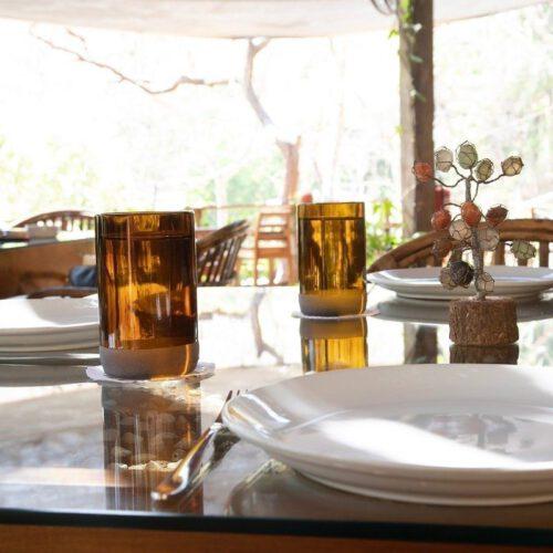Gläser aus Bierflaschen