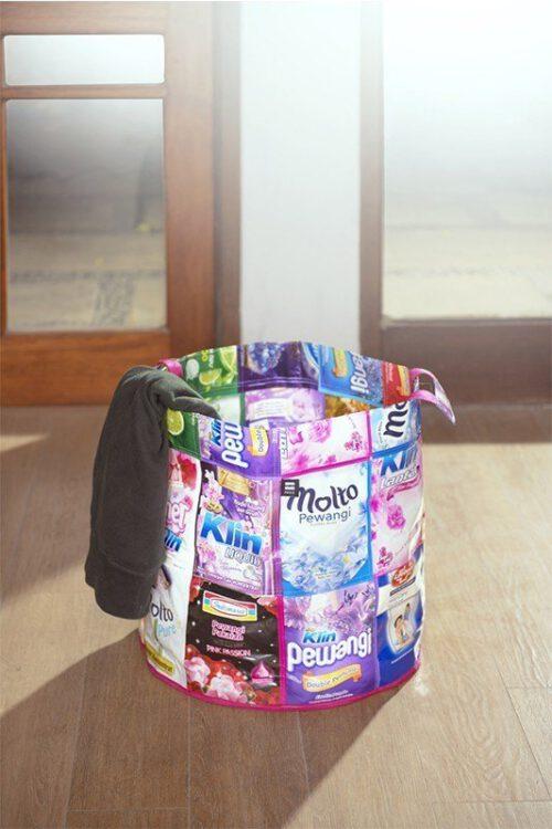 Upcycling Wäschebehälter