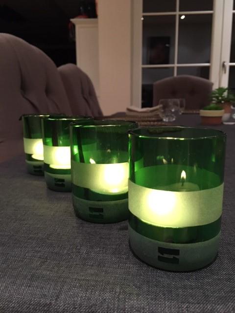 Upcycling-Teelichthalter