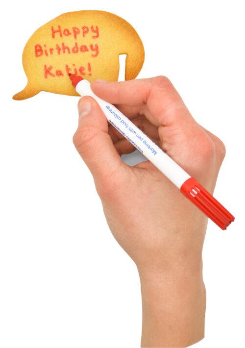 Tassenkeks mit Botschaft