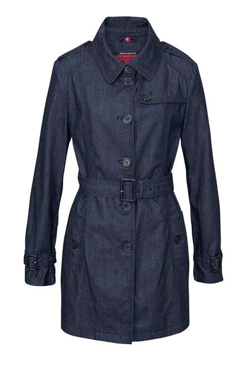 Danwear Jeans-Trenchcoat