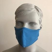 Befeni Kindergesichtsmaske hellblau