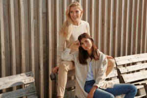Seyda Knit& Calina Shirt Jacket