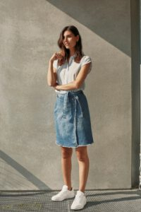 Sille Denim Skirt2
