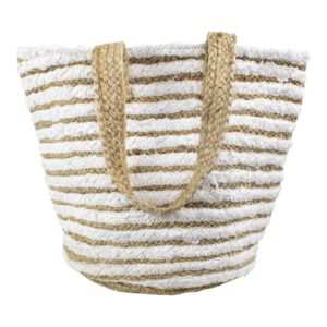 Baumwoll-Jute Shopper