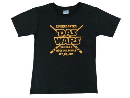 Kinder T-Shirt DAS WARS