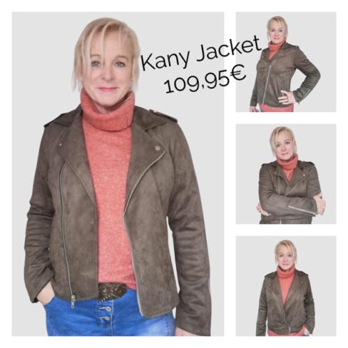 Kany fake suede jacket